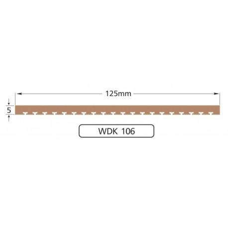 Полоса WDK106, 125мм