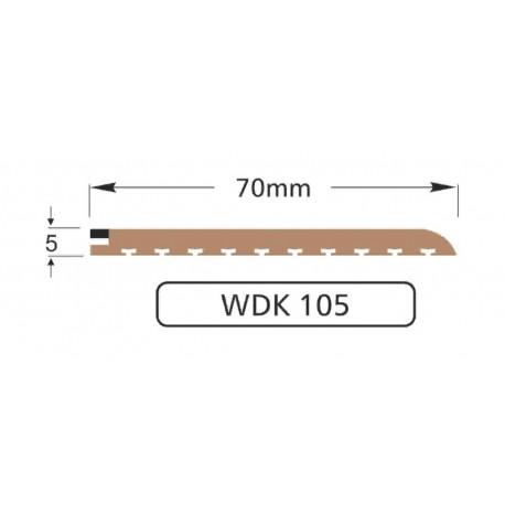 Полоса WDK105, 70мм (10м)
