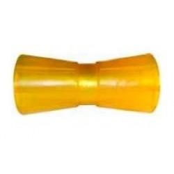 Ролик килевой Knott 195 мм, PVC, желтый