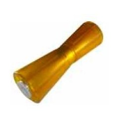 Ролик килевой Knott 255 мм, PVC, желтый