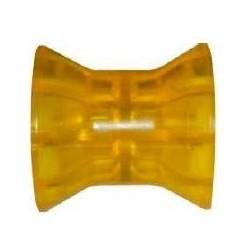 Ролик носовой Knott 74 мм, PVC, желтый
