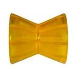 Ролик носовой Knott 95 мм, PVC, желтый