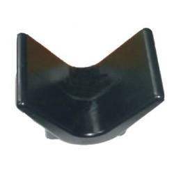 Упор носовой Knott, 115Х90, черный