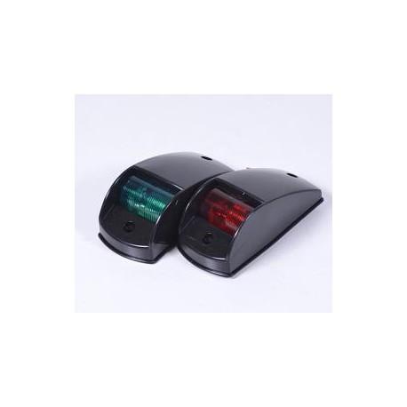 Навигационный огонь Easterner комплект(красный, зеленый), корпус пластик, черный