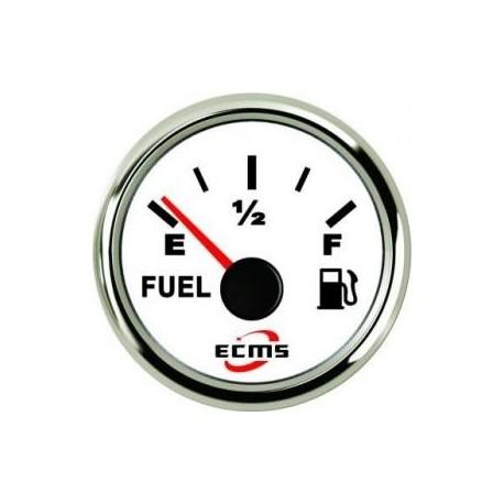 Датчик уровня топлива ECMS PMF2-WS-240-33 белый 52мм