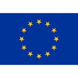 Флаг ЕС 30х45 см (GS73333)