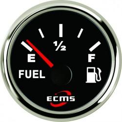 Указатель уровня топлива Faria Professional Red