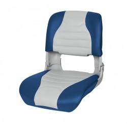 Сиденье WW складное серо/синее