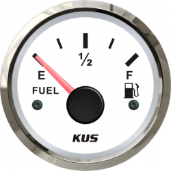 Указатель уровня топлива KUS 240-33 Ом, белый
