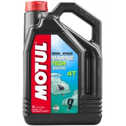 Моторное масло  Motul Marine Tech 4T 25W-40 5л