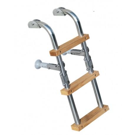 Складывающая лестница, ladder wood 3 steps