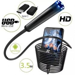 Эндоскоп Бороскоп Harch USB micro USB Андроид Windows