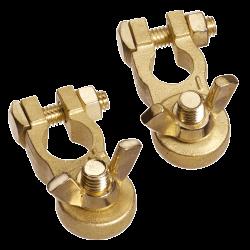 Клеммы аккумуляторные бронзовые Goldenship