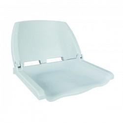Сиденье WW пластиковое складное белое
