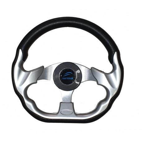 Рулевое колесо SunFine диаметр 320мм серо-черный