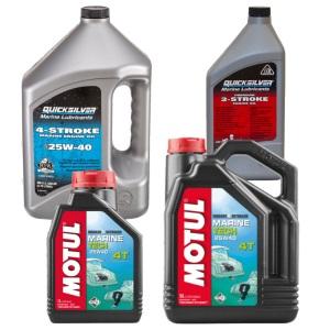 Моторное масло для лодочных двигателей